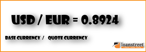 base currency quote currency exchange rate forex