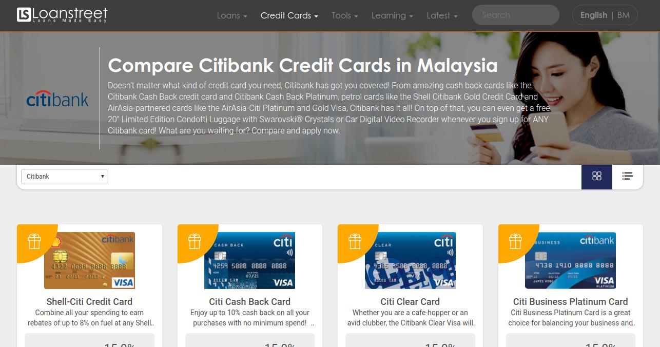 Compare citibank credit cards in malaysia 2018 colourmoves