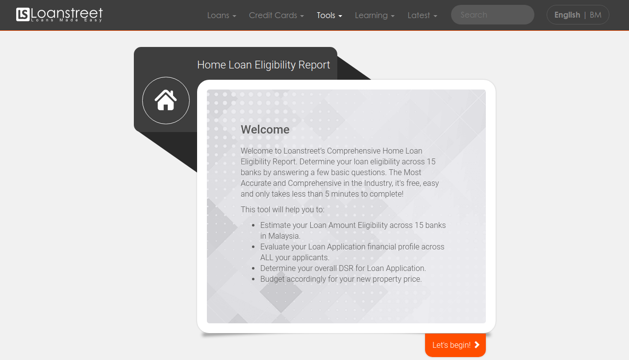 Home Loan Eligibility Report