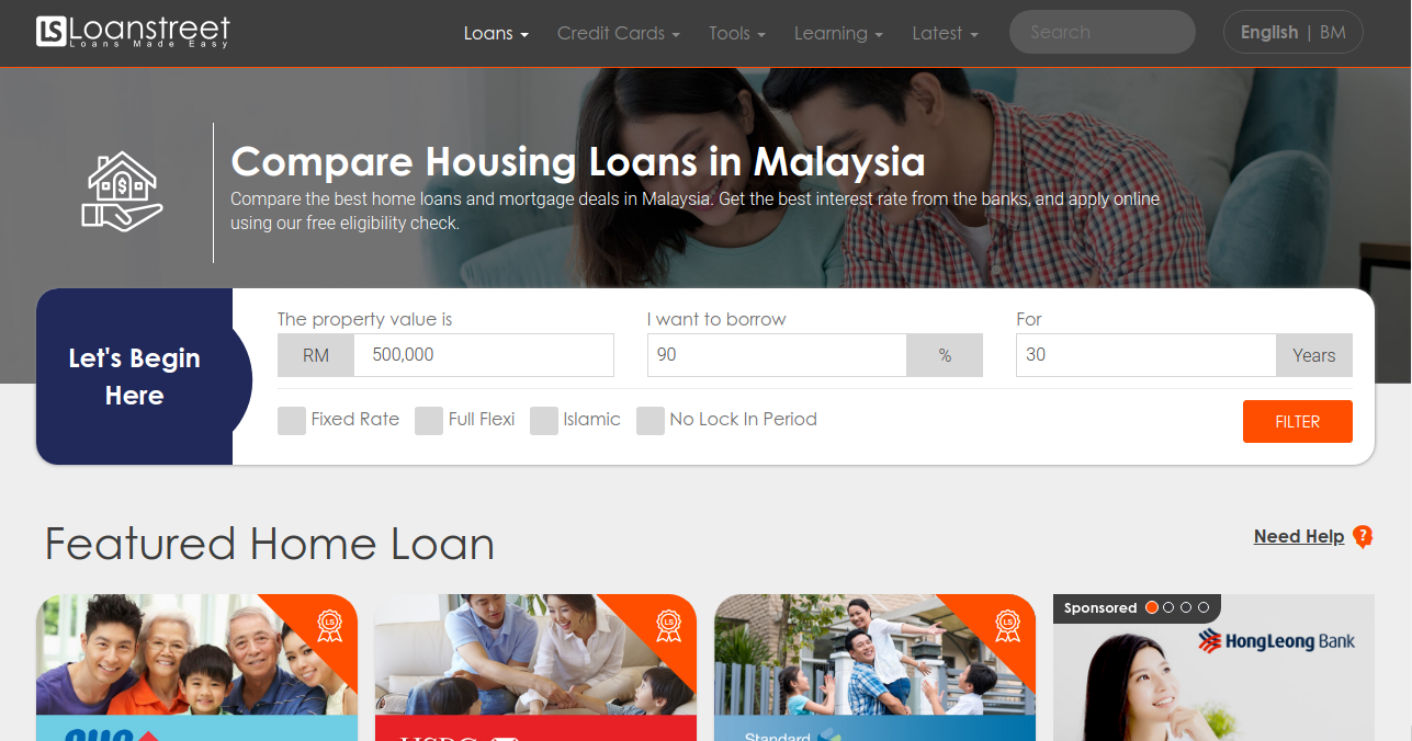 best housing loans in malaysia 2019