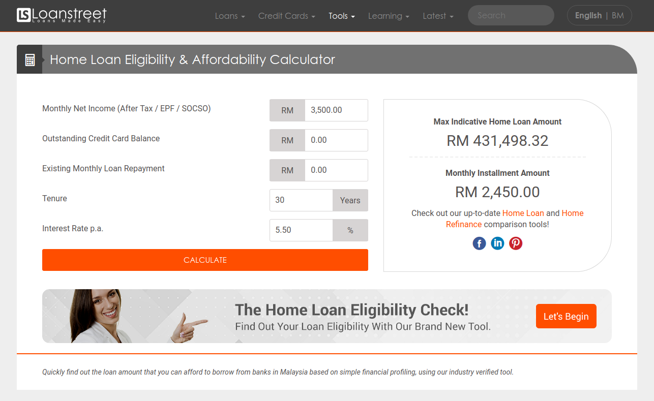 home loan eligibility  u0026 affordability calculator