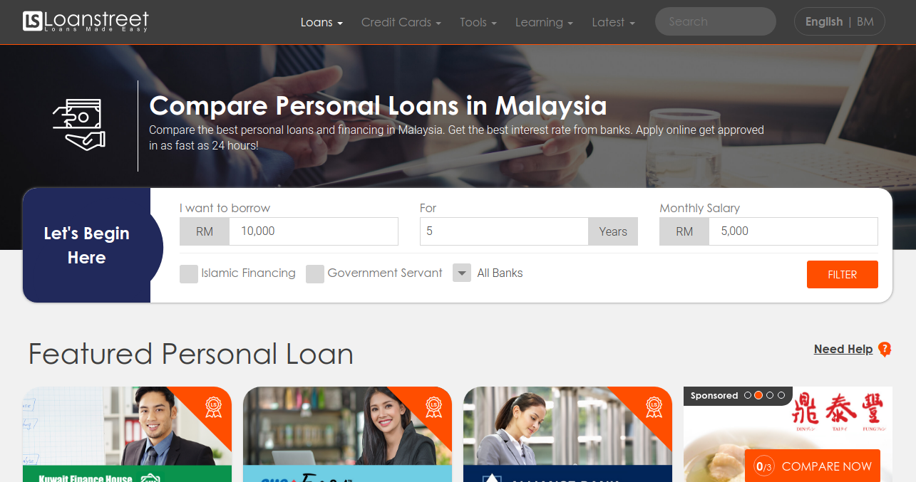 Best Personal Loans In Malaysia 2021 Apply Online