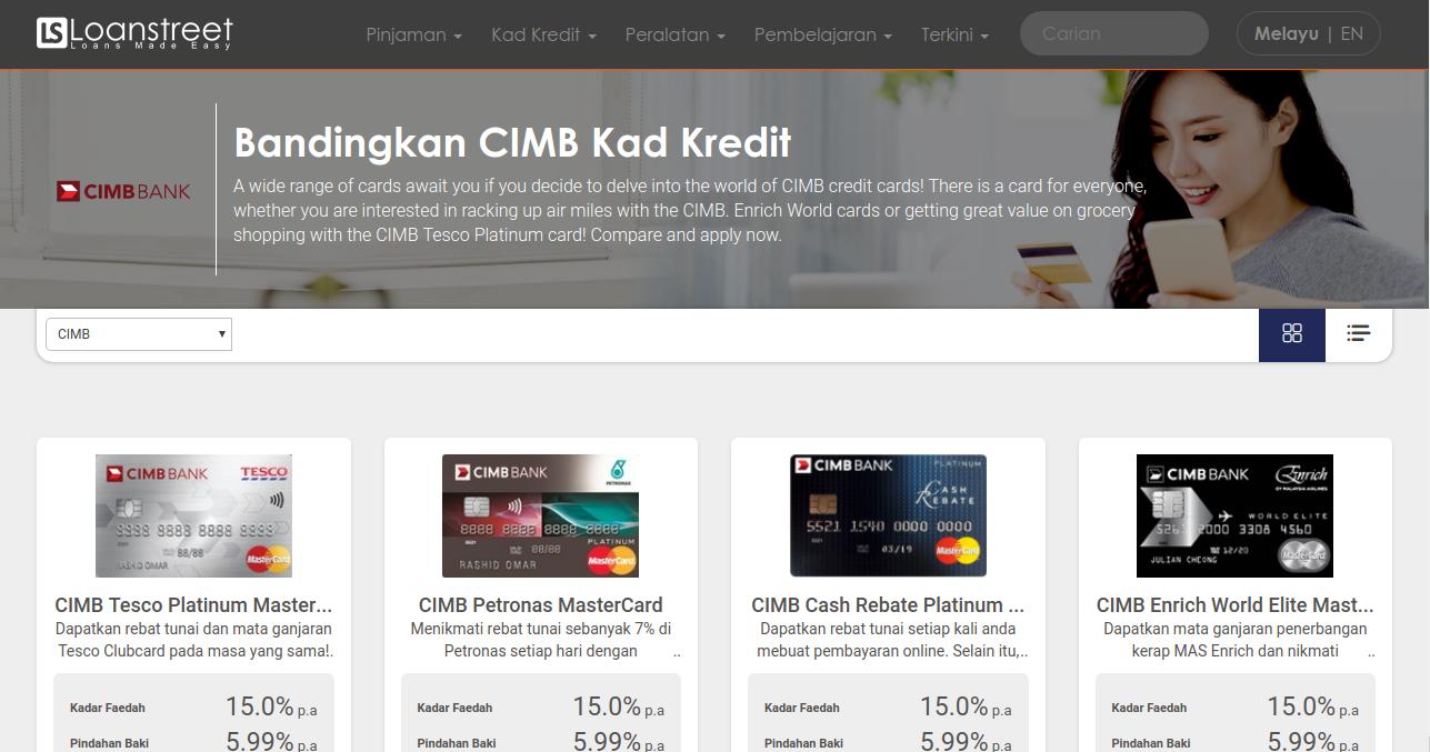 Bandingkan Kad Kredit Cimb Bank Di Malaysia 2020
