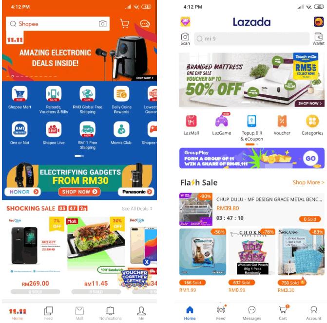 Lazada Vs Shopee Easiest Fastest Cheapest