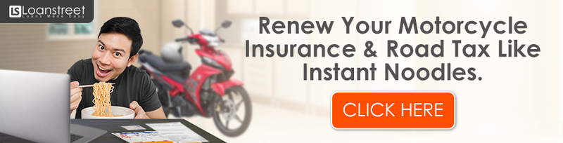 No Time Purchase Renew Motorcycle Insurance Road Tax Online Now