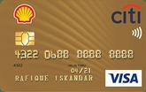 Shell-Citi Gold Credit Card
