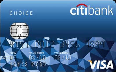 Citibank Choice Credit Card