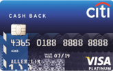 Citibank Platinum Visa Card
