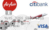 AirAsia-Citi Gold Visa Credit Card