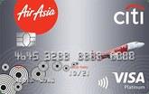 AirAsia-Citi Platinum Visa Credit Card