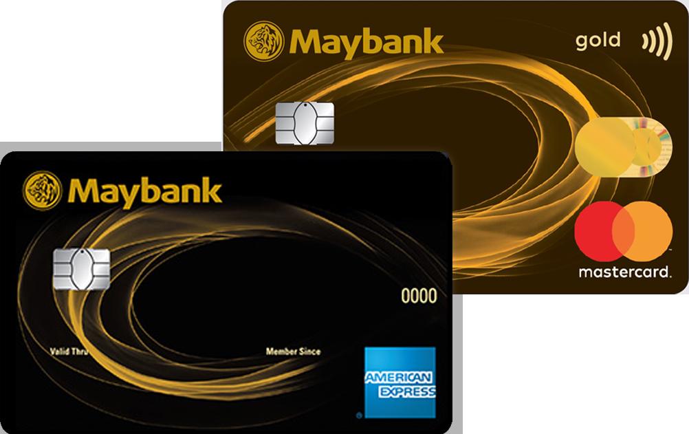 Maybank 2 Gold Cards