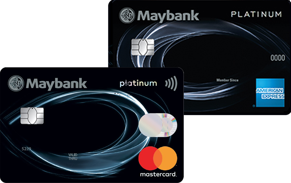 Maybank 2 Platinum Cards