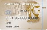 American Express® Cash Back Gold Maybank Credit Card