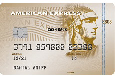 American Express® Cash Back Gold Maybank Credit Card