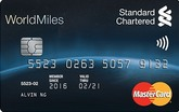 Standard chartered worldmiles world mastercard