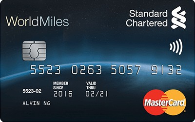Standard Chartered WorldMiles World Mastercard®
