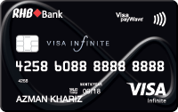 RHB Visa Infinite Credit Card