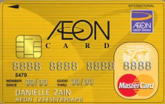NEW AEON Gold MasterCard