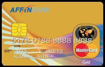AFFINBANK MasterCard Gold