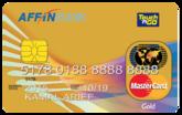 AFFINBANK Touch 'n Go MasterCard Gold
