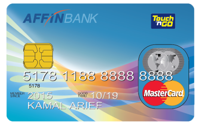 AFFINBANK Touch 'n Go MasterCard Classic