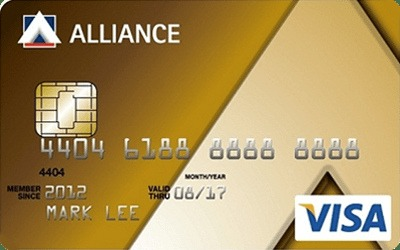 Alliance Bank Visa Gold Card