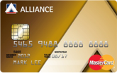 Alliance Bank MasterCard Gold Card