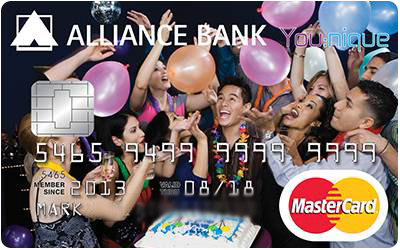Alliance Bank You:nique Rewards Credit Card