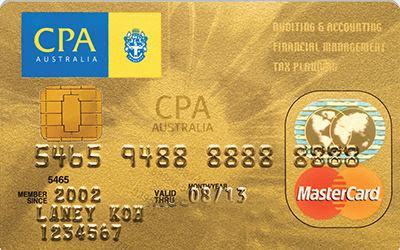 Alliance Bank CPA Australia Card