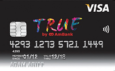 TRUE by AmBank Visa Credit Card