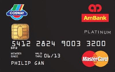 AmBank Cosway MasterCard Platinum