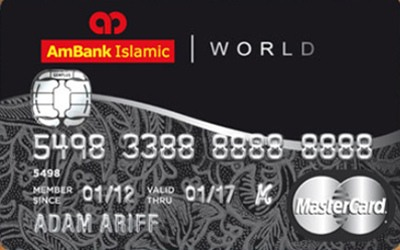AmBank Islamic World MasterCard-i