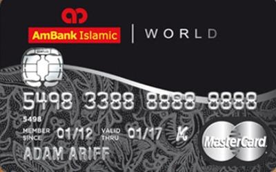 AmBank Islamic World MasterCard-i