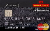 AmBank Islamic Al-Taslif Platinum Card-i MasterCard