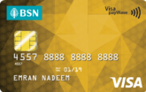 BSN Visa Gold Credit Card