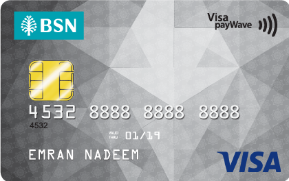 BSN Visa Classic Credit Card