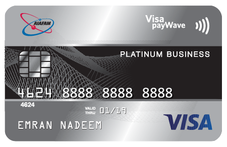 BSN-AIAFAM Visa Platinum Business Credit Card