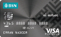 BSN Visa Platinum Credit Card-i