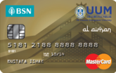 BSN-UUM Gold MasterCard Credit Card-i