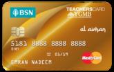 BSN-1Teachers MasterCard Gold Credit Card-i