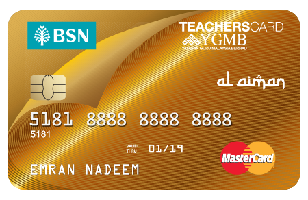 BSN-1Teachers MasterCard Gold Credit Card-i