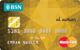 BSN Gold MasterCard Credit Card-i