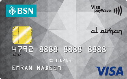 BSN Visa Classic Credit Card-i