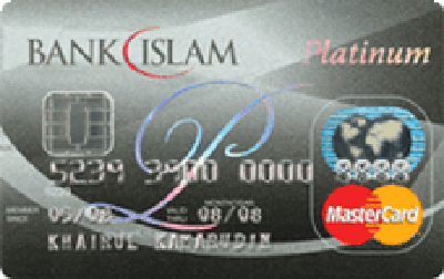 Bank Islam Platinum MasterCard Credit-i
