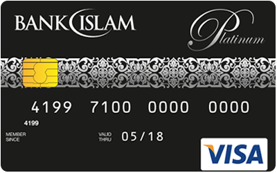 Bank Islam Platinum Visa Credit Card-i