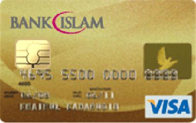 Bank Islam Gold Visa Card-i