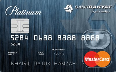 Bank Rakyat Credit Card-i Platinum