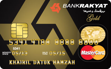 Bank Rakyat Gold Credit Card-i