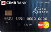 CIMB Cash Rebate Platinum MasterCard