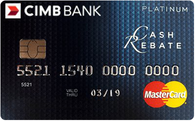 CIMB Cash Rebate Platinum Credit Card
